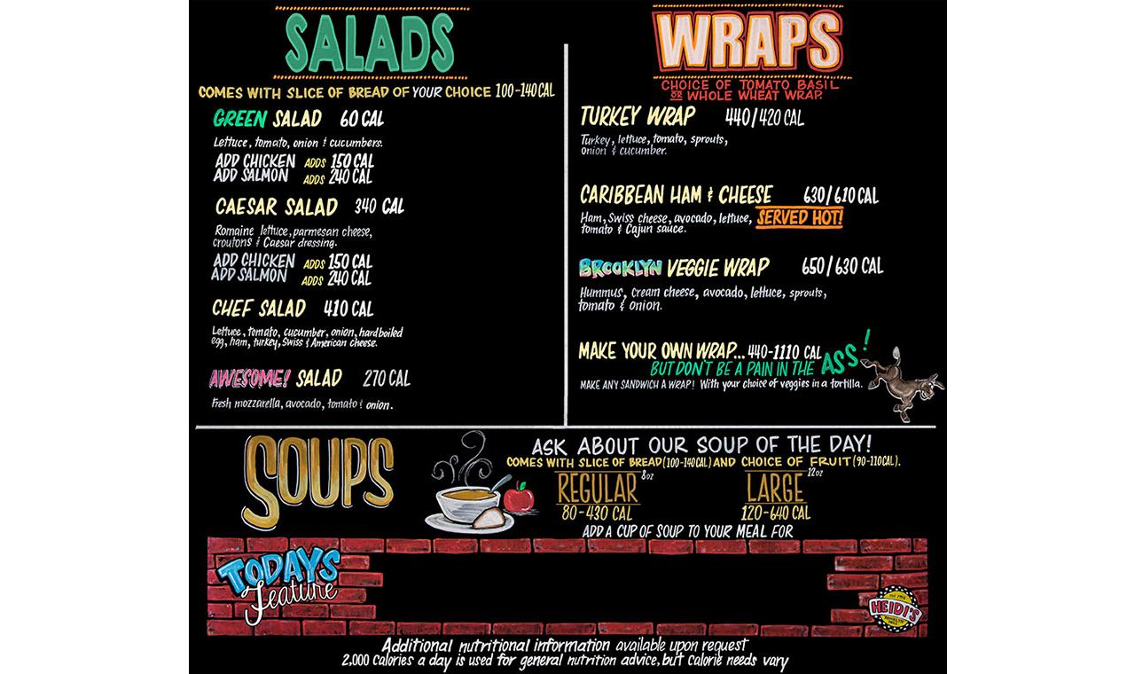 Salads-Wraps