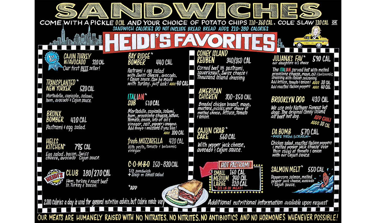 Signature-Sandwiches